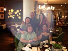 Cassie, Sarah, Josh and their friends