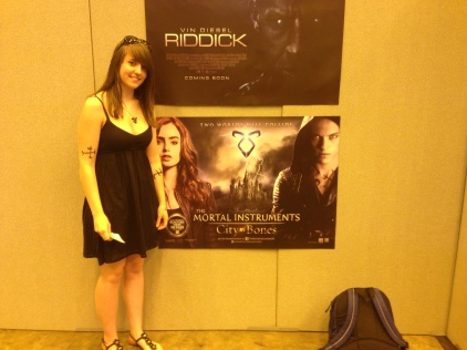 Me with Mortal Instruments Poster