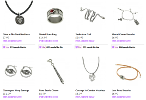 mortal jewellry 1