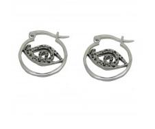 Clairvoyant Hoop Earrings £11.99