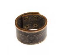 Angelic Rune Leather Cuff £14.99