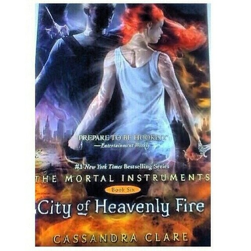 City of Heavenly Fire Cover! | British Nephilim