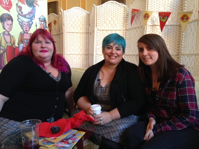 Cassandra Clare, Holly Black and Sarah Seymour-Griffiths