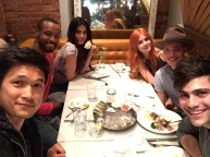 Magnus, Luke, Izzy, Clary, Jace and Alec