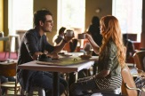 "SHADOWHUNTERS - ""The Mortal Cup"" - One young woman realizes how dark the city can really be when she learns the truth about her past in the series premiere of ""Shadowhunters"" on Tuesday, January 12th at 9:00 - 10:00 PM ET/PT. ABC Family is becoming Freeform in January 2016. Based on the bestselling young adult fantasy book series The Mortal Instruments by Cassandra Clare, ""Shadowhunters"" follows Clary Fray, who finds out on her birthday that she is not who she thinks she is but rather comes from a long line of Shadowhunters - human-angel hybrids who hunt down demons. Now thrown into the world of demon hunting after her mother is kidnapped, Clary must rely on the mysterious Jace and his fellow Shadowhunters Isabelle and Alec to navigate this new dark world. With her best friend Simon in tow, Clary must now live among faeries, warlocks, vampires and werewolves to find answers that could help her find her mother. Nothing is as it seems, including her close family friend Luke who knows more than he is letting on, as well as the enigmatic warlock Magnus Bane who could hold the key to unlocking Clary's past. (ABC Family/John Medland) ALBERTO ROSENDE, KATHERINE MCNAMARA"
